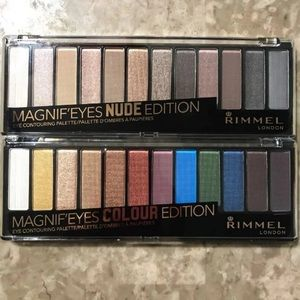 Rimmel Eyeshadow Pallets